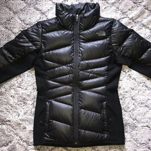 EUC🤩 NORTH FACE GOOSE-DOWN Jacket Black Fitted